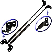 WGS-179-2 Wisconsin Auto Supply Two Rear Hatch Liftgate Gas Charged Lift Supports With Upgraded Mounting Studs and Brackets For 1993-1998 Jeep Grand Cherokee
