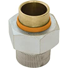 Parker Hannifin 169CA-6-4-pk10 Male Elbow Compress-Align Fitting Forged Brass Pack of 10 3//8 Compression Tube x 1//4 Male Thread