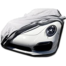 LIAOMJ-Car Covers Compatible With Mercedes Benz AMG GTS GTC GTR Special Car Cover Sun-proof Car Protective Cloth Four Seasons Universal Tarpaulin Full Body Cover Color : Black, Size : GTC