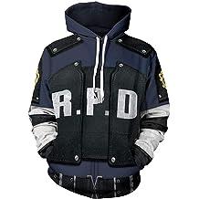 Drawstring Backpack Adjustable Gym Sack Bag Stars-Raccoon-Police-Dep-Resident-Evil-2