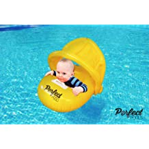 Cool Squawking Baby Inflatable Pool Float Kids Summer Swim Ring Safe Seat Boat for Age 1-3 Years Jellydog Toy Shark Baby Float