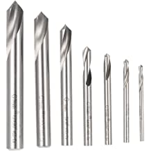 1//8 Diameter x 1-119//128 Length YG-1 High Speed Steel NC Spotting Drill Bit Slow Spiral Bright 120 Degree Straight Shank Uncoated Pack of 1
