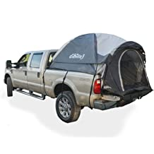 8-8.2 96-98 2-Person Sleeping Capacity North East Harbor Pickup Truck Bed Camping Tent Includes Rainfly and Storage Bag Fits Full Size Truck with Long Bed - Gray and Blue