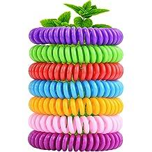 Variety NextGen Outdoors Mosquito Repellent Bracelets DEET FREE 4-Pack with 8 Pellets