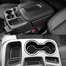 CarsCover Custom Fit 2017-2018 Dodge Ram 1500 2500 3500 Pickup Truck Black Neoprene Car Front Center Jump Seat Cover and Console Covers