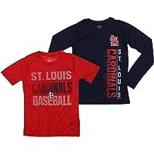 Outerstuff MLB Youth//Kids Boys St Louis Cardinals Performance Fleece Sweatshirt