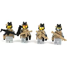 MOC Minifigures MH-6 Little Bird Helicopter brick mania special force navy seals