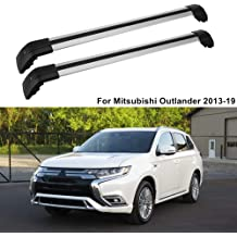 MotorFansClub Cross Bar Roof Rack Luggage Cargo Rack Fit for Compatible with Mini Clubman 2016 2017 2018 Aluminum