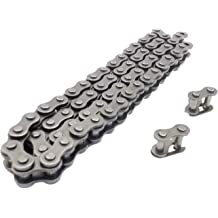1 LLH2K 102 Link 420 Chain Special Forging Steal Compatible with Connecting Master Link for 50cc 70cc 90cc 110cc 125cc Motorcycle Dirt Pit Bike ATV Quad Go Kart 4 wheeler