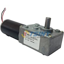 25RPM wosume Gear Motor Micro Type DC SPE-ed Reduction Motor Large Torsion Worm Gear Motor 24V for Multiple Purposes