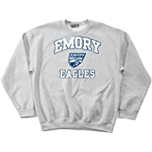 NCAA Emory Eagles 100-Percent Pre-Shrunk Vintage Mascot Short Sleeve Tee