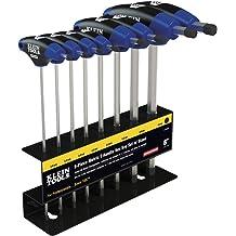 10 Piece Ansen Tools AN 200 Heavy Duty Cushion Grip Metric T-Handle Hex Key Set