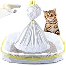 PetLike Cat Litter Box Liners 3-Roll Heavy Duty Cat Litter Pan Bags Quick /& Easy Cleanup