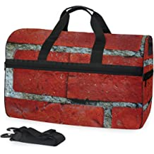 Eiffel Tower Sports Gym Bag with Shoes Compartment Travel Duffel Bag for Men Women