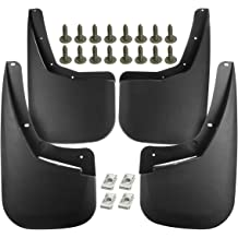 A-Premium Splash Guard Mud Flaps Fenders Replacement for Toyota Sienna 2004-2010 without Running Boards 4-PC Set