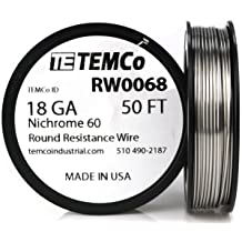 TEMCo Titanium Wire 24 Gauge 100 FT Surgical Grade 1 Resistance AWG ga