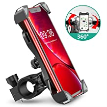 Red with Handle 0.71-1.26 Advanced All Aluminum Alloy WINDFRD Motorcycle Phone Action Camera Mount Holder Universal for Handle 18-32mm Suitable for Ducati Halley BMW Honda Yamaha Kawasaki,etc