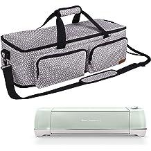 Natur@cho Carrying Case Bag Compatible with Cricut Joy Machine and Cricut Easy Press Mini Cricut Joy Starter Tool Set Portable Tote Bag for Cricut Easy Press and Supplies