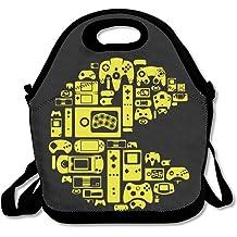 NaDeShop Miraculous Ladybug Cat Noir Miaou Drawstring Backpack Travel Sports Bag