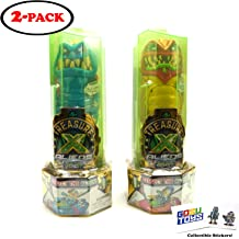 2 Pack with 2 GosuToys Stickers Treasure X Kings Gold Mystical Beast