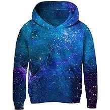 963 Kid//Youth Mi-Necraft Unisex Sweater Kids 3D Print Graphic Pullover Hoodie Sweatshirts Pocket