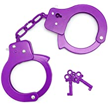 HOMILY Kids Hand Cuffs and Badge for Kids Pretend Toy Role Play