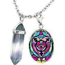 My Altar Goddess Kali Loving Mother Fierce Warrior Black Stainless Steel Pendant Necklace