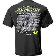 2X Premium Heather NASCAR Hendrick Motorsports Jimmie Johnson Mens M Benchmark FZ HoodM Benchmark FZ Hood