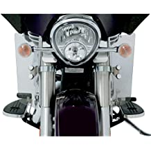 Ghost//Polished Aluminum Memphis Shades 14-20 Harley FLHX2 Hand Guards