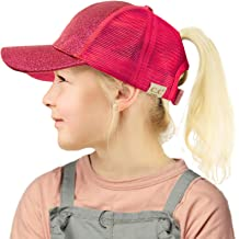 WAYCOM Sun Visor Hats for Kids,Sun Cap UV Protection Hat with Detachable Shawl for Boys and Girls for 3-10 Years