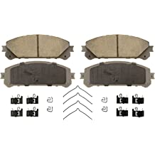 Wagner ThermoQuiet QC1623 Ceramic Disc Pad Set With Installation Hardware Front