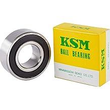 uxcell 3201-2RS Angular Contact Ball Bearing 12x32x15.9mm Sealed Bearing 5201-2RS 3pcs