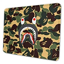 Large Gaming Mouse Pad Ba-pe Shar-k Mousepad Non-Slip Rubber Fancy Mousepad Rectangle Mouse Pads for Computers Laptop 30x15.7 Inch