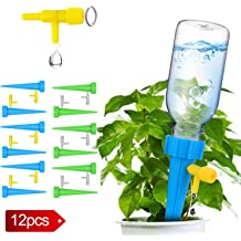 Fascigirl 4 pack Hand-blown Glass Plant Watering Device Aqua Globes Bulbs Self Automatic Watering System Self-watering Bulbs