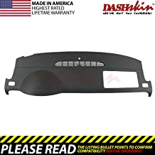 Black AKMOTOR Dash Cover Dashboard Cover Mat Pad Fit for Toyota RAV4 2013 2014 2015 2016 2017 2018 Z02