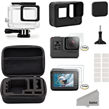 Navitech 60-in-1 Action Camera Accessories Combo Kit with EVA Case Compatible with The YI Discovery Action Camera
