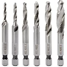 MADE IN USA Champion Cutting Tool Brute Platinum XL22-6-32 Heavy Duty Spiral Point Tap: Individual Pack