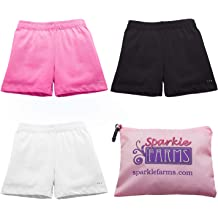 Sparkle Farms Girls Under Dresses or Skirts Shorts For Playground Modesty Duo