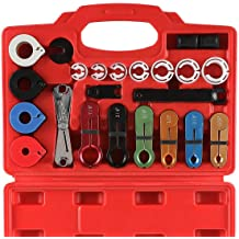 ABN Master AC Disconnect Fuel Line Disconnect Tool Set Fuel Line Tool Fuel Line Removal Tool 6pc Kit 5//16-7//8in