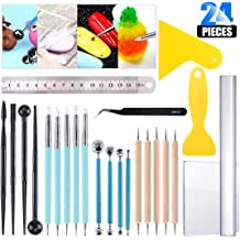 Black Wooden Handle Clay Sculpting Tools Soft Silicone Tips for Shaping Modeling Wipe Out Durable Metal Casings 5pcs Professional Silicone Rubber Tip Paint Pens Brushes