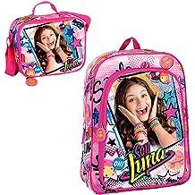 NEW SOY LUNA DISNEY Bolso Neceser//Bag I Am Luna Disney 22x15x6cm GIFT