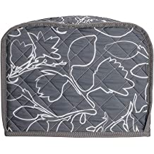 Big Size 12x5.5x9.5Inches,Top Handle Design 2 Slice Toaster Cover,Universal Microwave Oven Dust Cover,Kitchen Small Appliance Cloth Cover Nifty Broiler Appliance Organizer Bag