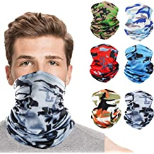 Buff Headwear for Outdoor Sports Sun UV Face Protection Mask BEIARA Multi-Cool Neck Gaiter Cooling Headband for Men//Woman