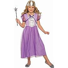 Regal Shimmer Princess Girls Costume Dress Medieval Tudor Golden Gown S M L