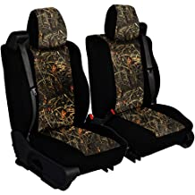 CarsCover Custom Fit 2014-2019 Toyota Tundra Pickup Truck Neoprene Car Front Center Console Jump Seat Cover