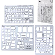 1 Each Rapidesign 1//8 Inch ABC Architect Drawing Template R22A