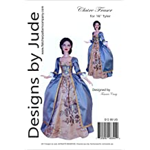 Dance with Me Gown Doll Clothes Sewing Pattern for Tyler Tonner