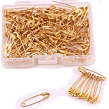 18x5mm Black Shapenty Mini Metal Clothing Accessories Trimming Fastening Clip Button Tool Tiny Sewing Craft Safety Pins for Stitch Markers and Tag Hanging 160PCS