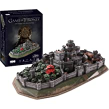 Game of Thrones Bundle Pack Includes Both The Red Keep /& Winterfell 3D Jigsaw Puzzles Made by Wrebbit 3D 1,755 Puzzle Pieces