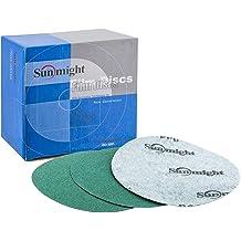 "Sunmight 32119 4.5/"" x 27YD 800 Grit Gold Soft Flex Sanding Roll"
